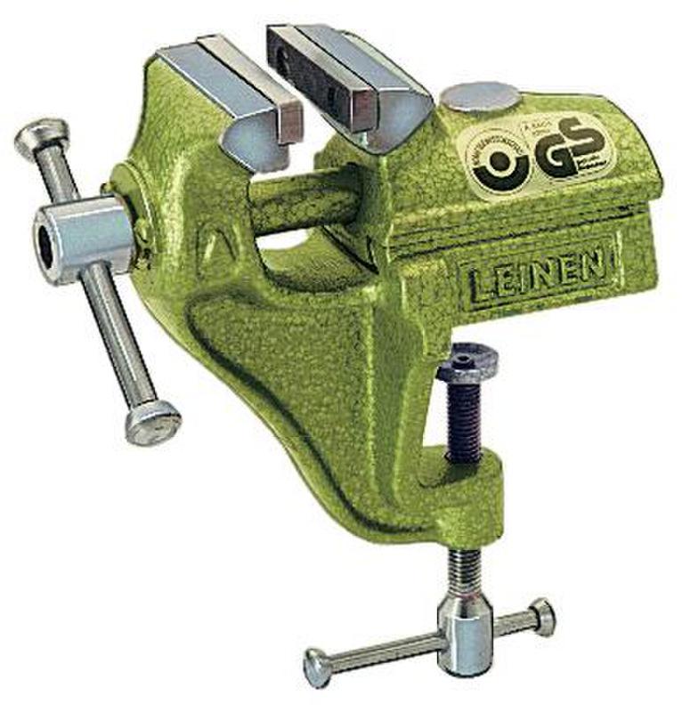 LEINEN Parallel-Schraubstock 60 mm mit Bügel Farbe grün 51036120 ...