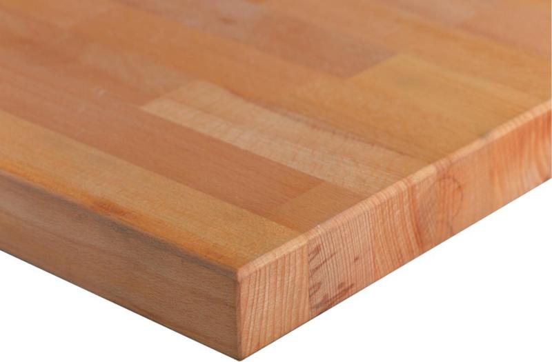 hk werkbankplatte buche massiv beidseitig ge lt lxtxs 1500x700x40 mm 50233540 hahn kolb. Black Bedroom Furniture Sets. Home Design Ideas