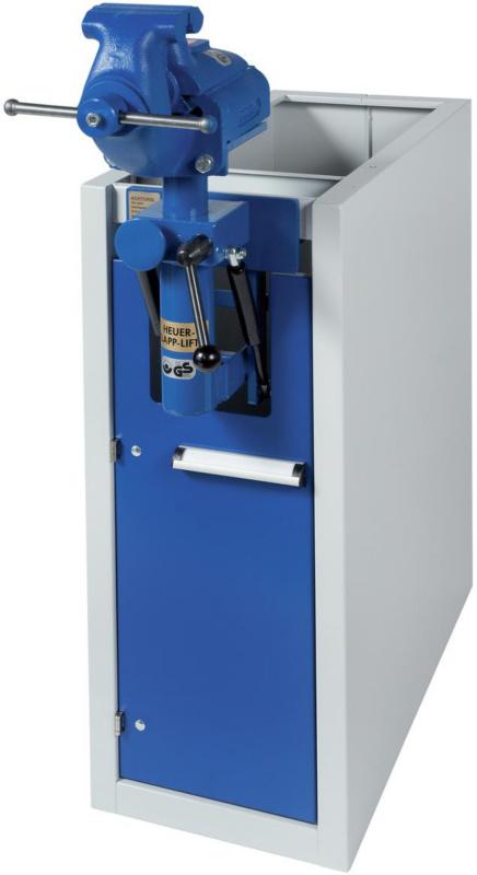 50212650 hk werkbank unterbauschrank mit schraubstock und. Black Bedroom Furniture Sets. Home Design Ideas