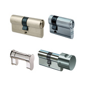 Profile cylinders and key accessories