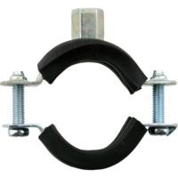 2-Schraub-Rohrschellen Stahl verzinkt