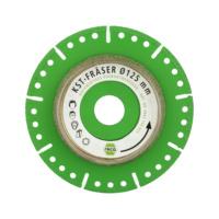 diaflex Trenn- und Frässcheibe KST für Kunststoffrohre 115-125mm