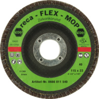 Flex-Mop Fächerschleifscheiben gewölbt