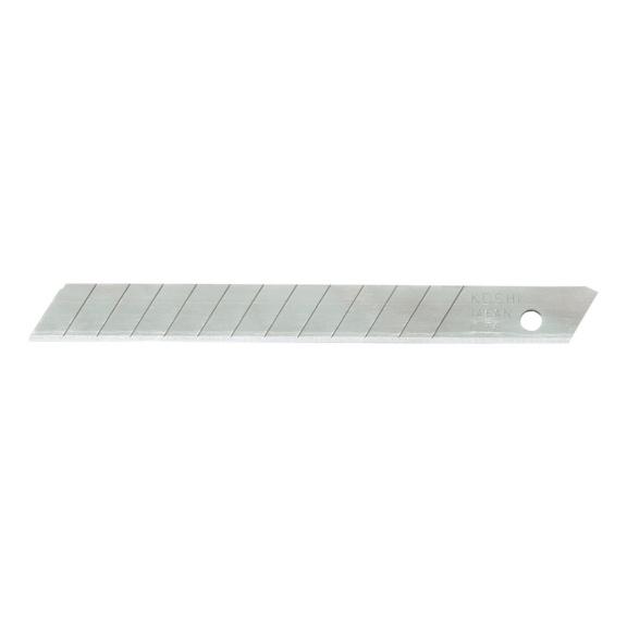 RECA Ersatzklingen (10 Stück) weiß 9 mm