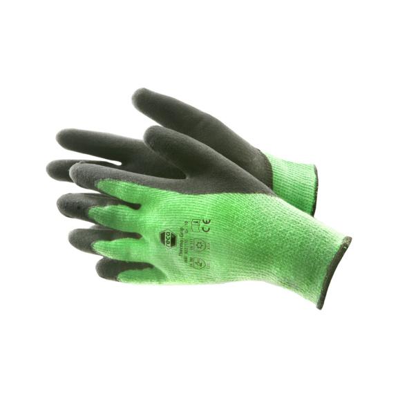 RECA ThermoGrip Winterhandschuhe - RECA Thermo Grip Winterhandschuhe EN 388 / EN 511 Acryl-Baumwolle, Latex beschichtet Gr. 9