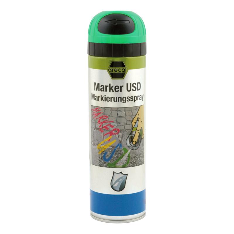 arecal Marker USD Premium, Markierungsspray - arecal Marker USD Markierungsspray grün 500 ml