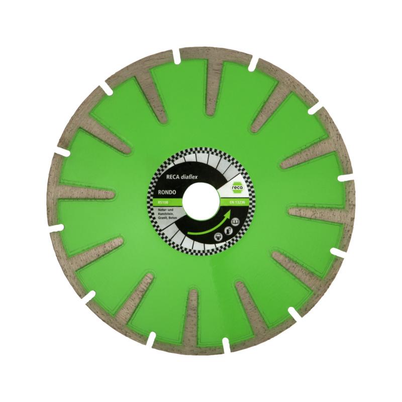 Diaflex rondo kurvenscheibe rs10b 125 180mm - Kunststoffrohre durchmesser tabelle ...
