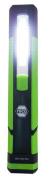 Werkstattleuchte R350 - Werkstattleuchte R350 10 SMD LEDs, Magnetfuß, Haken und Knickfunktion, inkl.Ladekabel 230 V und KFZ-Adapter