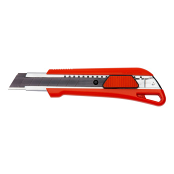 1C-Cutter-Knife with slider With automatic blade locking mechanism for a comfortable one hand operation.