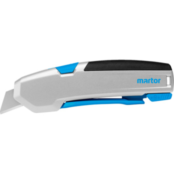 Safety knife Martor Secupro 625 Double lock knife with higher cutting depth and fully automatic blade retraction.