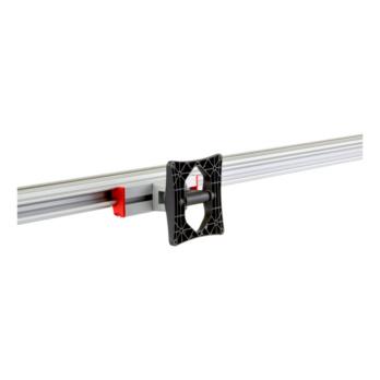CLIP-O-FLEX® holder Screenflex 60 Monitor holder with 60 mm cable bracket incl. secure locking & VESA 100 standard | 1967700488