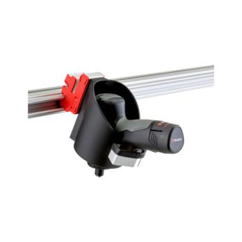 CLIP-O-FLEX® Halter Varioflex erweitert Halterung ohne Boden mit erweiterter Öffnung, zur Nicht-Betätigung des Funktionstasters 1-fache Ausführung | 1967780003