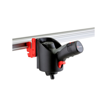 CLIP-O-FLEX® Halter Varioflex Halterung ohne Boden, 1-fache Ausführung | 1967700024