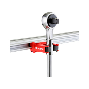 CLIP-O-FLEX® Halter Toolflex 2 30-40 mm Klemmweite, 1-fache Ausführung | 1967700063