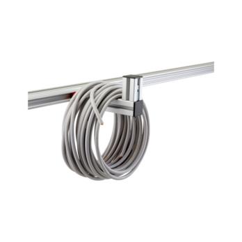 CLIP-O-FLEX® holder Longoflex 150 Supporting surface 150 mm, L-form of 40x40mm aluminium profile | 1967700069