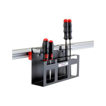 CLIP-O-FLEX® Halter Screwdriverflex 1 Halterung für bis zu 15 Schraubendreher | 1967700074