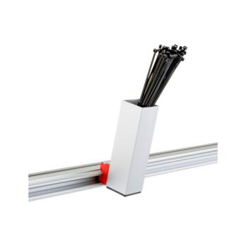 CLIP-O-FLEX® Halter Cableflex 170 Halterung aus 50 mm Vierkantrohr | 1967700079
