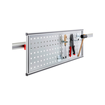 CLIP-O-FLEX® holder Perfoflex Flexible perforated plate wall with punched hole: 10 x 10 mm, Distance between holes: 38 mm | 1967780082