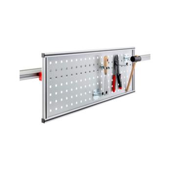 CLIP-O-FLEX® Halter Perfoflex flexible Perfolochblechwand, Lochung: 10 x 10 mm, Lochabstand: 38 mm | 1967780082