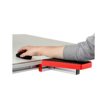CLIP-O-FLEX® Halter Armflex Ergonomische Handauflage, mit Hartschaum gepolstert (LD45), leicht abgeschrägt,  2 Stück | 1967780088