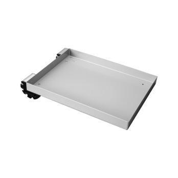Tablare mit Einhänge-Profil 0/40/80°  Als Werkzeughalterung mit Schaumstoffeinlage oder transportable Arbeitsfläche einsetzbar. Mit zwei genieteten Profilen ausgerüstet.
