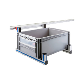 CLIP-O-FLEX® Halter BigBin 600x400 Halterung zur Ablage von Behältern 600x400 mm | 1967780087