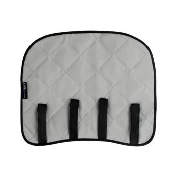 Verkoelende nekbescherming voor een helm Biedt tot 15° C verkoeling onder de omgevingstemperatuur