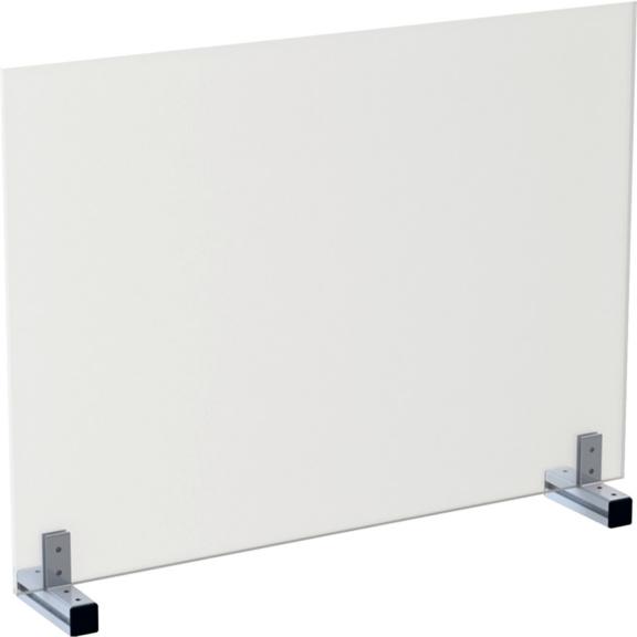 """HygieneFLEX-Schutzwand Tisch """"ohne Rahmen"""