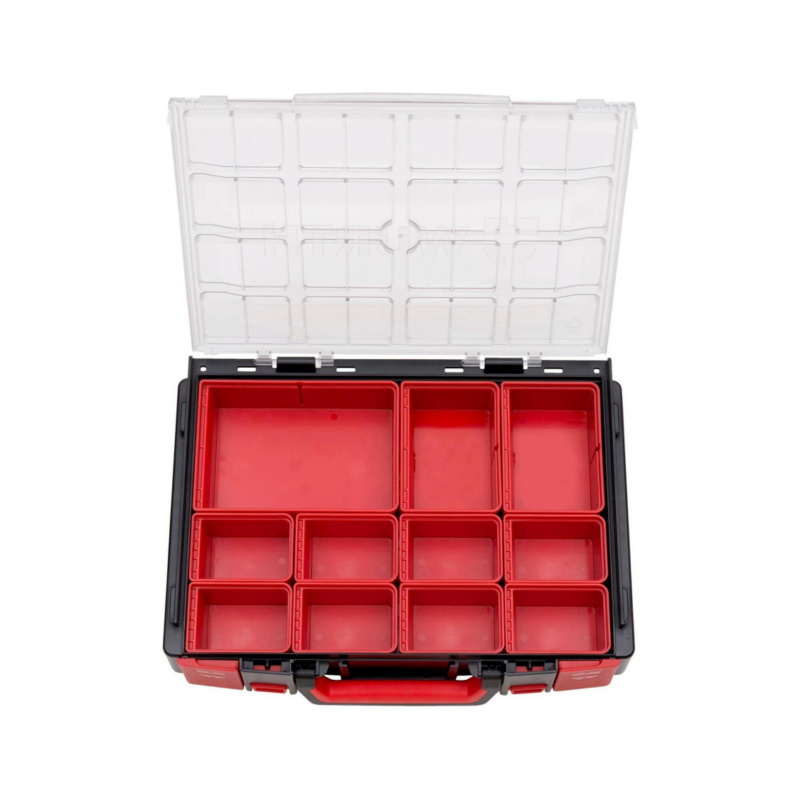 ORSY® System Case Range 4.4.1 Transparent – Empty, Fitted with System Boxes