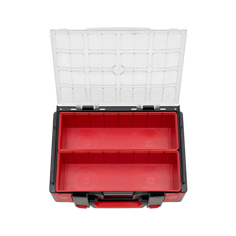 ORSY® System Case Range 4.4.2 Transparent – Empty, Fitted with System Boxes