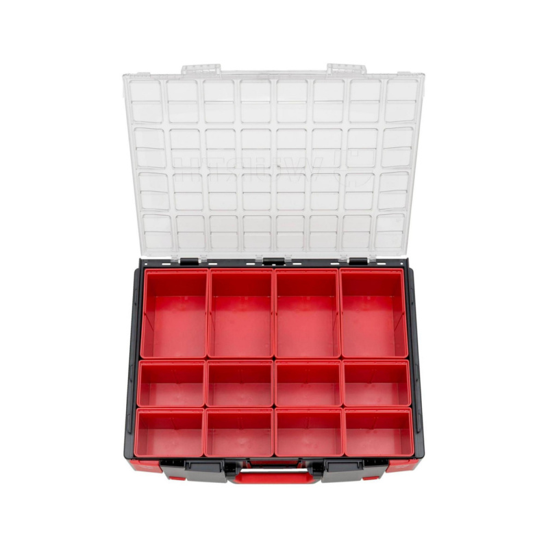 ORSY® System Case Range 8.4.2 Transparent – Empty, Fitted with System Boxes