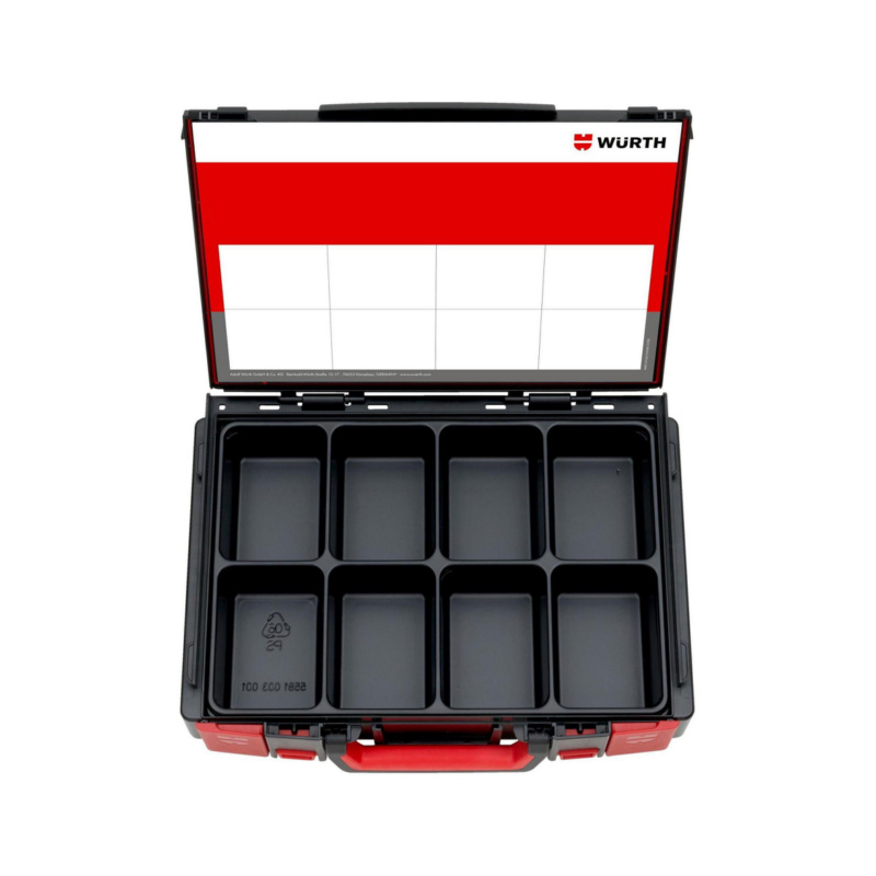 ORSY® System Case Range 4.4.1 – Empty, Filled with System Insert