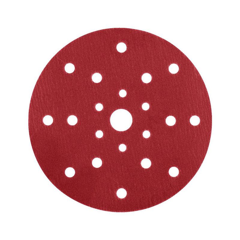 Disque de papier abrasif sec Red perfect