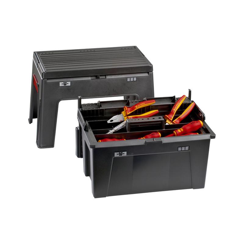 Elektro-Werkzeugbox Junior II - WZG-SORT-ELEKTR-JUNIOR2-KOFFR