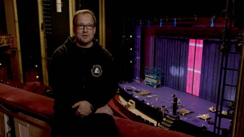 Benjamin Neuen, technischer Produktionsleiter bei Stage Entertainment