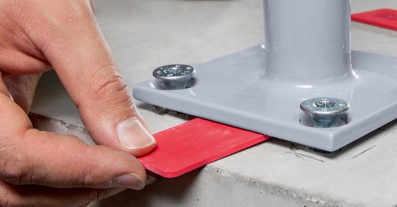 Erhöht nochmals die Flexibilität während der Montage: Nachträgliches justieren der Anbauteile