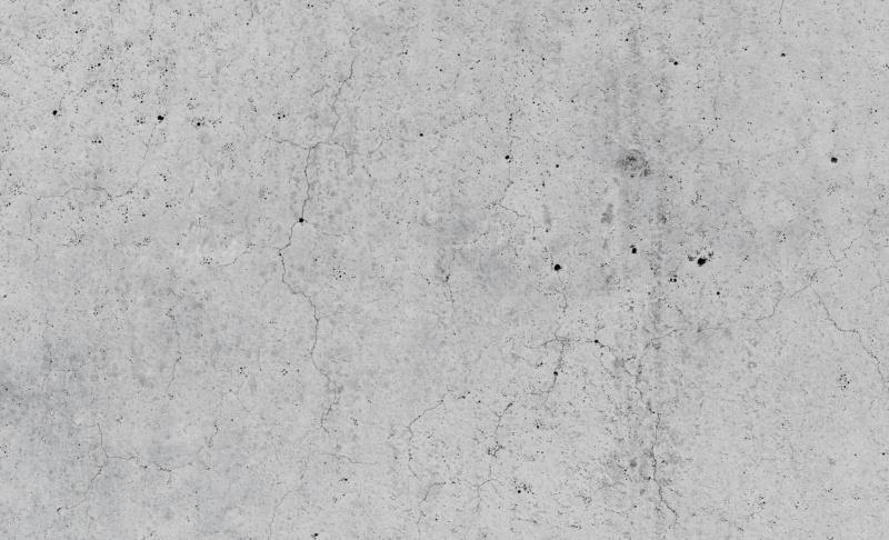 Betonoberfläche mit sichtbaren Rissen (gerissener Beton)