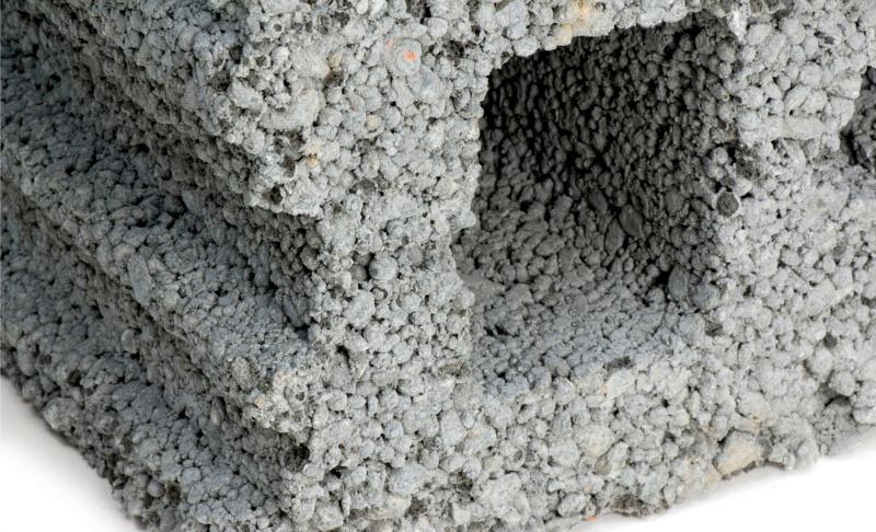Hohlblockstein aus Leichtbeton