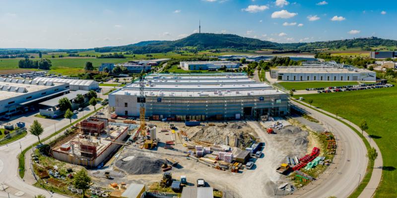 Baubuche als Tragwerksmaterial: Praxisbeispiel SWG - Schraubenwerke Gaisbach