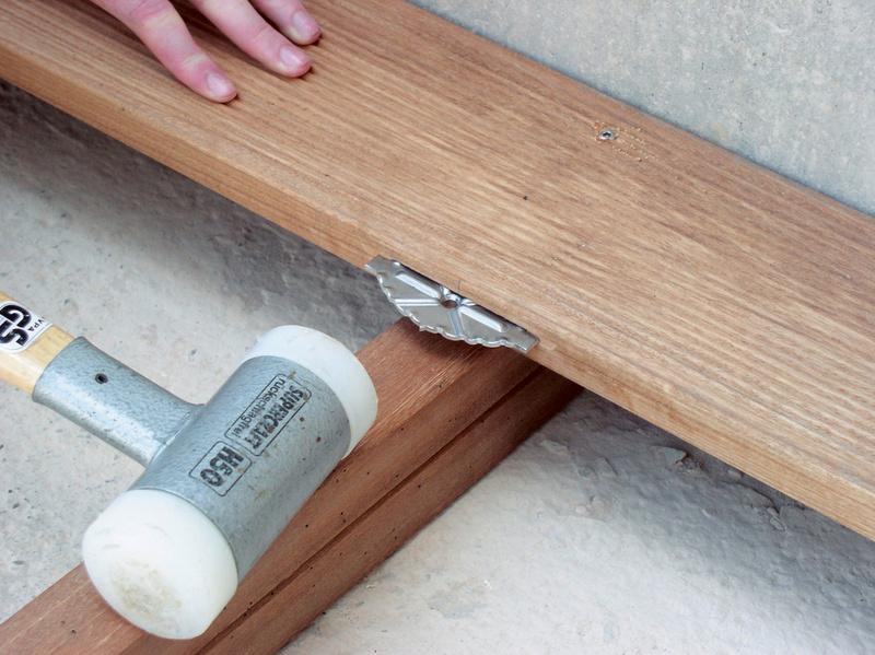 Terrassenverbinder