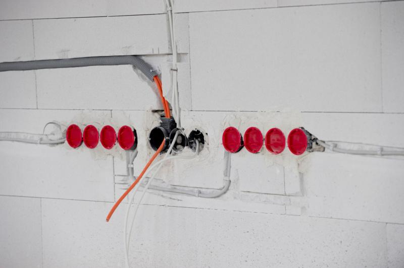 Unterputz-Installation